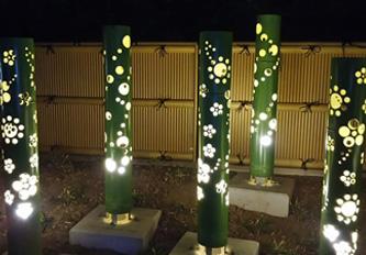 山鹿市西九日町公園 照明灯