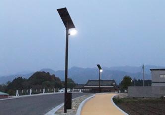 山都町 歩道(ソーラー照明灯)