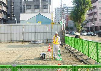 マンション建設予定地環境音調査